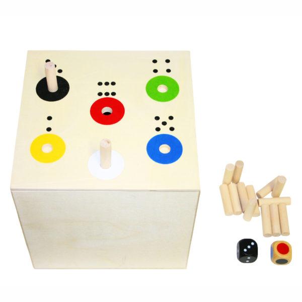Ab in die Box XXL aus Holz für Kindergarten-und Schulkinder