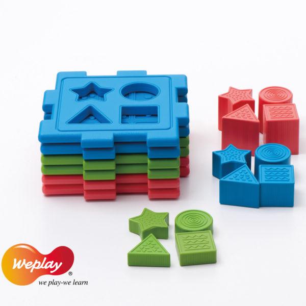 Lernwürfel für Kleinkinder und Kindergartenkinder