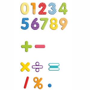 Magnet Ziffern für Kinder in Kindergarten- und Schulalter