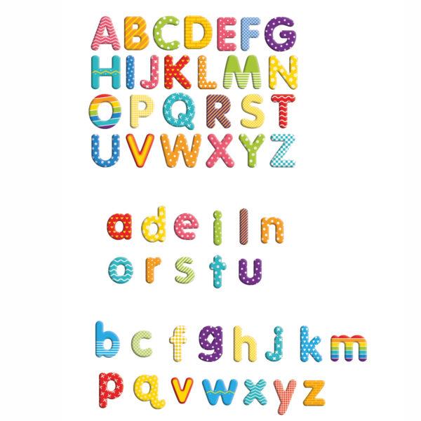 Magnet Buchstaben für Kinder in Kindergarten-und Schulalter