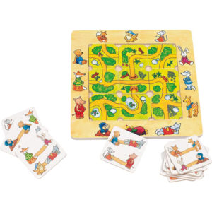 Legespiel aus Holz für Kinder im Kindergartenalter