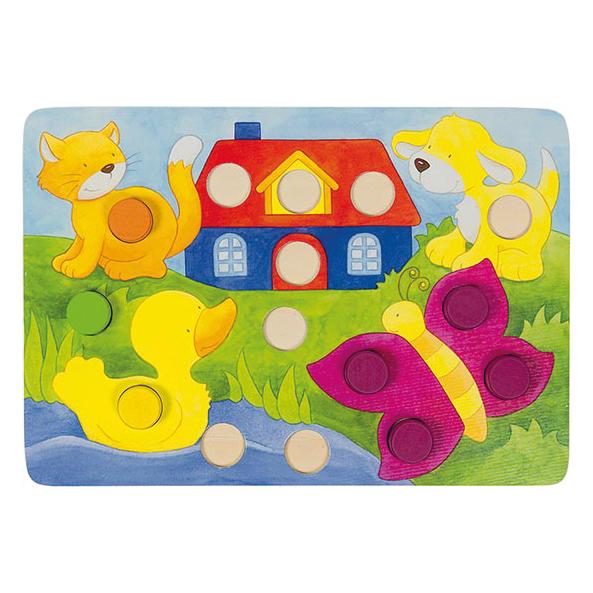Würfelspiel für Kinder in Kindergartenalter