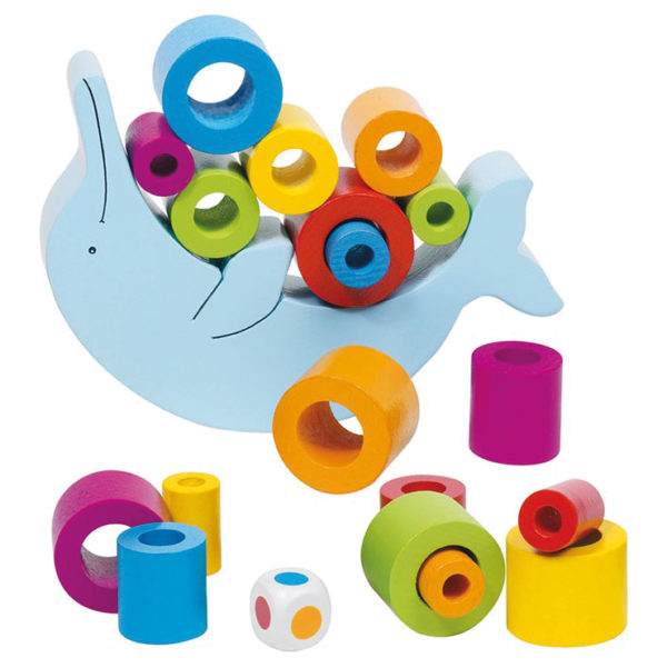 Geschicklichkeitsspiel aus Holz für Kinder in Kindergarten- und Schulalter