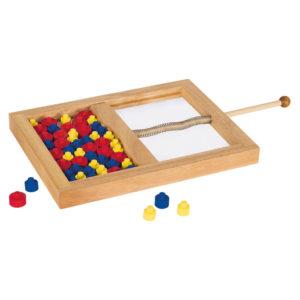 Geschicklichkeitsspiel aus Holz