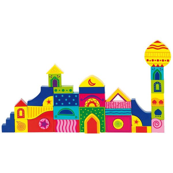 Puzzle aus Holz für Kinder in Kindergarten-und Schulalter