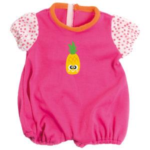 Strampler kurz für Babypuppe soft