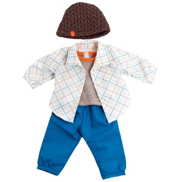 Kleidung für Babypuppe soft