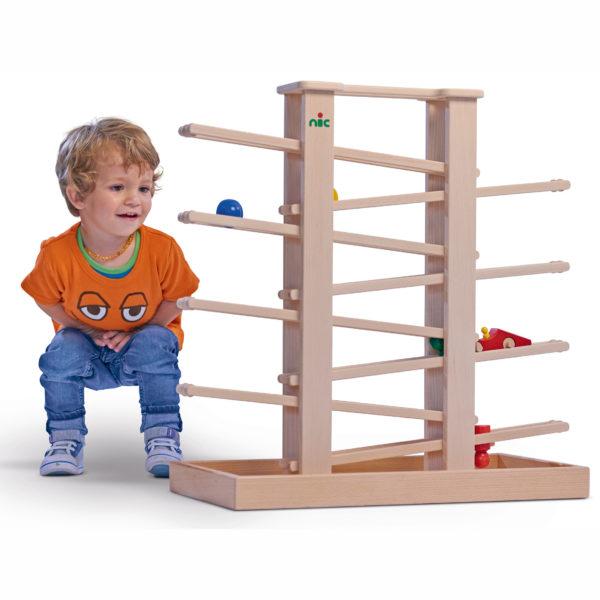 Trödelspiel aus Holz für Kleinkinder und Kindergartenkinder