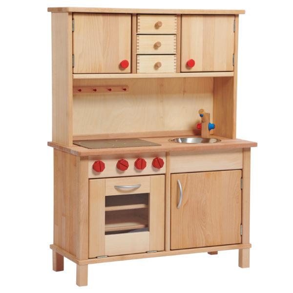 Kinderküche aus Holz für Kindergarten- und Schulalter