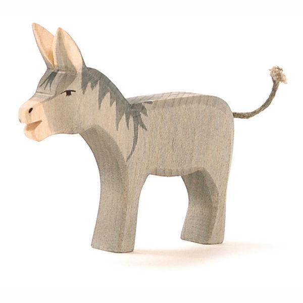 Esel aus Holz für Rollenspiel
