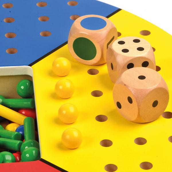 """Steckspiel """"Felix"""" aus Holz für Kinder in Kindergarten-und Schulalter"""