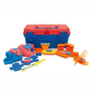 Wunderknete Werkzeug Box für Kinder in Kindergarten- und Schulalter