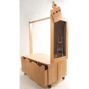 Verkleidungswagen mit Spiegel für Kinder