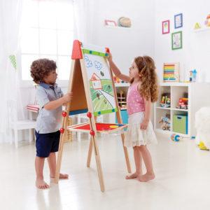 Spiel-Tafel zum Malen und Zeichnen, für Magnete.