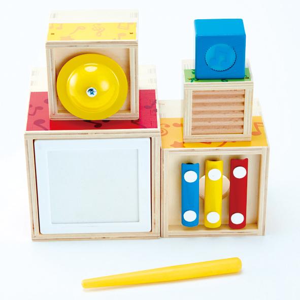 Musik Stapelwürfel Set für Kinder in Kindergarten- und Krippenalter