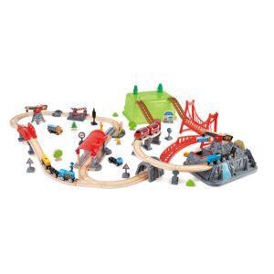 Eisenbahn Set für Kinder in Kindergarten- udn Schulalter