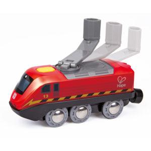 Zug mit Kurbelantrieb für Kinder in Kindergarten- und Schulalter