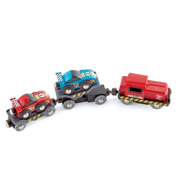 Rennwagen Transporter für Holz Eisenbahn