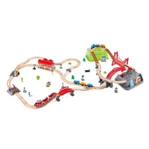 Eisenbahn Baukasten Set für Kinder