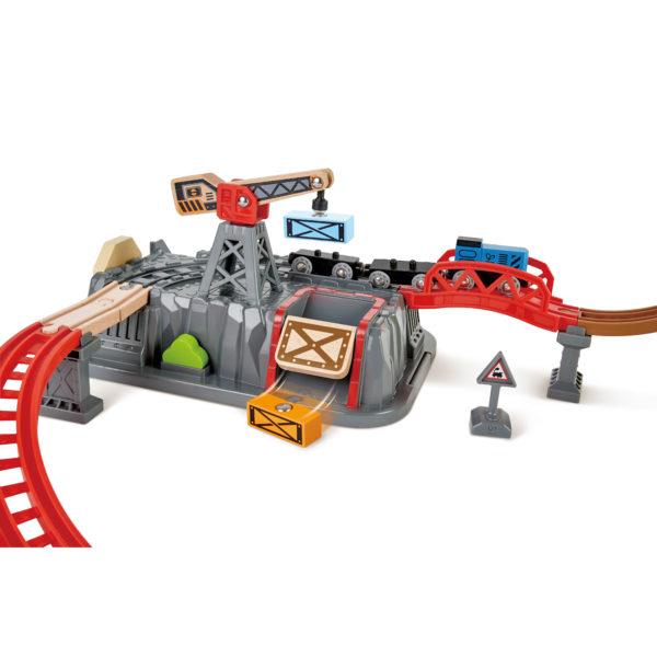 Eisenbahn Baukasten Set für Kinder in Kindergarten- udn Schulalter