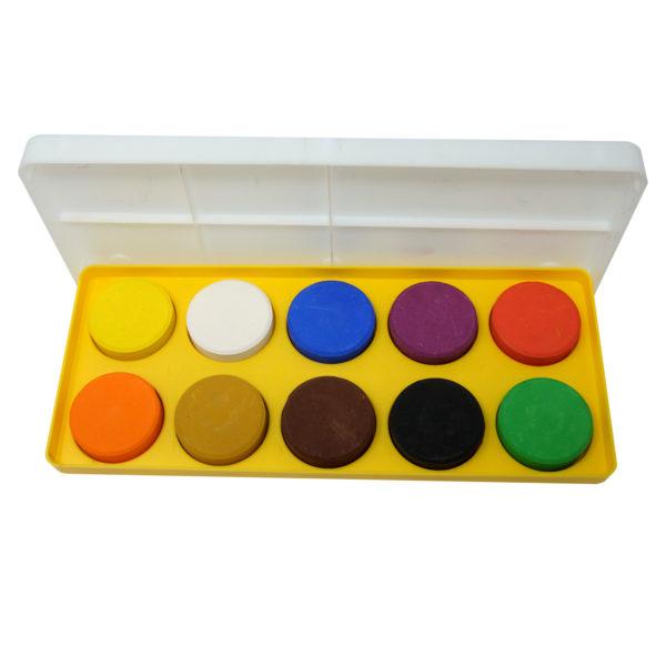 Öko Color Blocks Set zum Malen von belcolART