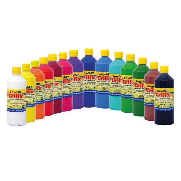 Crilix Acrylfarbe zum Malen von belcolART