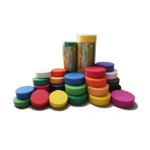 Öko Colour Blocks Tempera Farbblöcke von belcolART