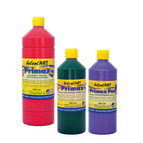 Primax Universalfarbe von belcolART zum Malen für Kinder