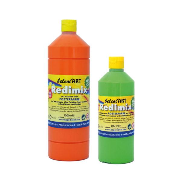 Redimix Temperafarbe von belcolART für Malen mit Kindern
