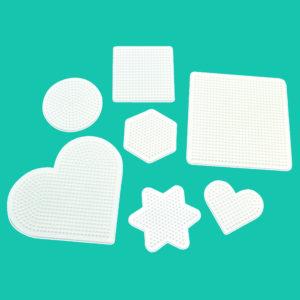 Stoftplatten für das Legen von Bügelperlen