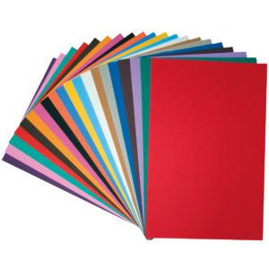 Moosgummi in verschiedenen Farben zum Basteln