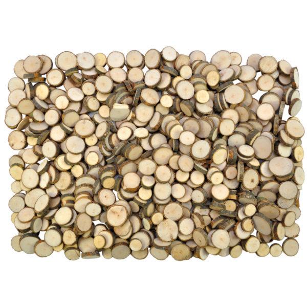 Scheiben aus Naturholz für Bastelarbeiten