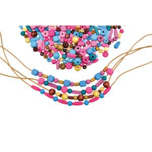 Riesen Perlenset zum Fädeln und Basteln