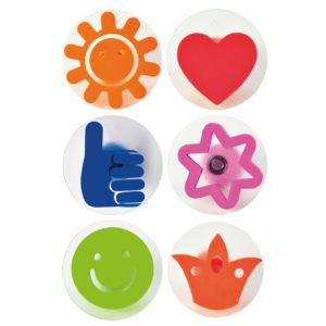 Stempelset Icons für Kinder in Kindergarten- und Schulalter
