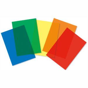 Transparentbögen farbig