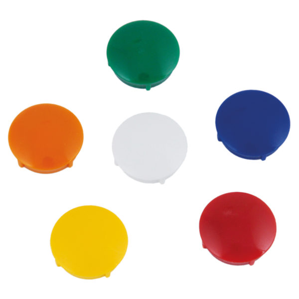 Magnete verschiedene Farben