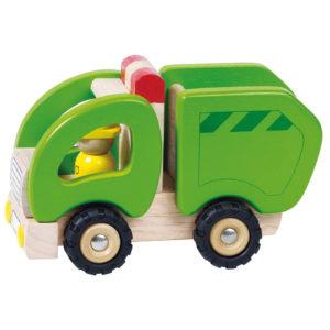 Müllwagen aus Holz