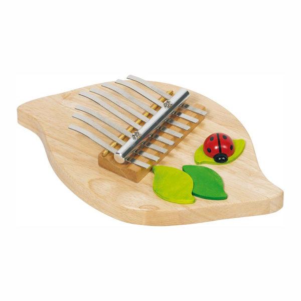 Kalimba Zupfinstrument für Kinder im Kindergarten