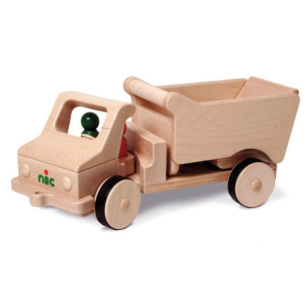 nic Großer Holzkipper aus Holz für Kinder in Kindergarten- und Schulalter