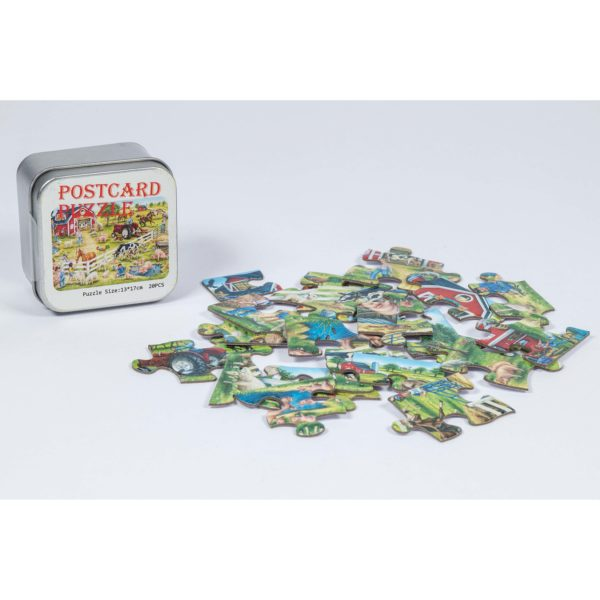 Puzzle in Blechdose
