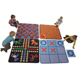 Spielteppich Set für Kinder in Kindergarten- und Schulalter