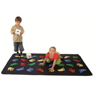 Spielteppich für Bewegungsspiele
