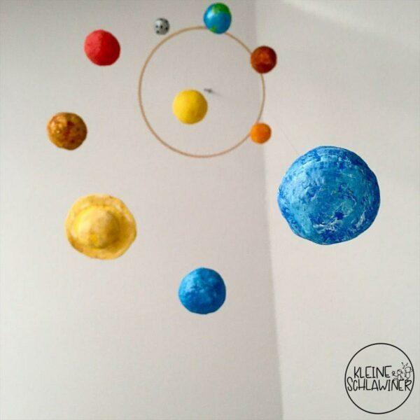 Planeten aus Modelliermasse von belcolART