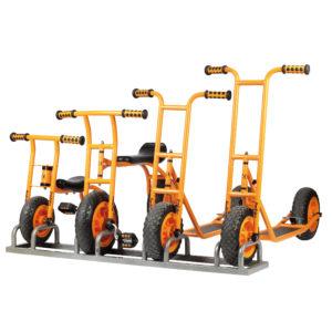 Rollerstand für bis zu 4 Roller oder Räder