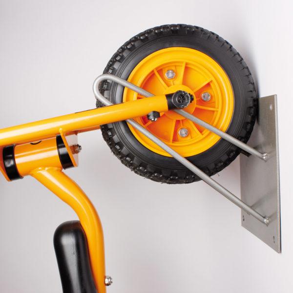 Wandaufhänung für Roller und Räder von beleduc