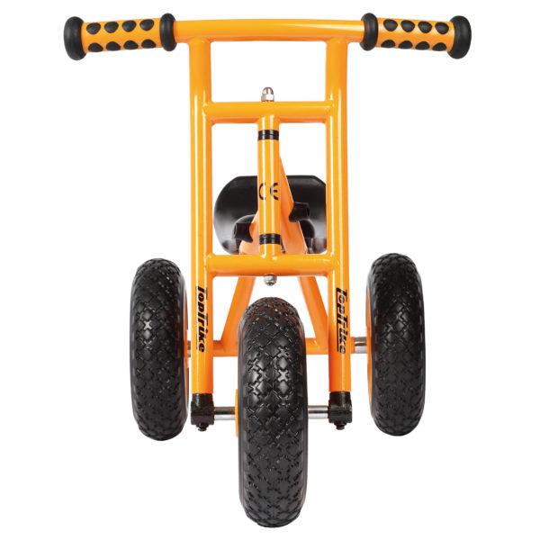 Frontansicht des Laufrads Little Drifter für Kinder im Kindergarten- und Krippenalter