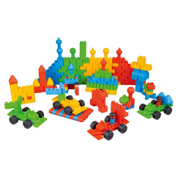 TWINI big blocks Bausteine Set für Kinder in Krippe und Kindergarten