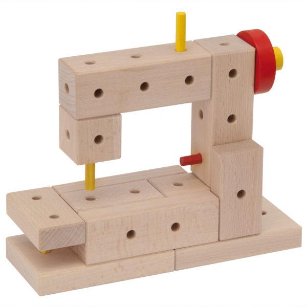 Nähmaschine aus Matador Bausteinen