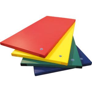 Leichtturnmatte in verschiedenen Farben für Turnsaal oder Bewegungsraum