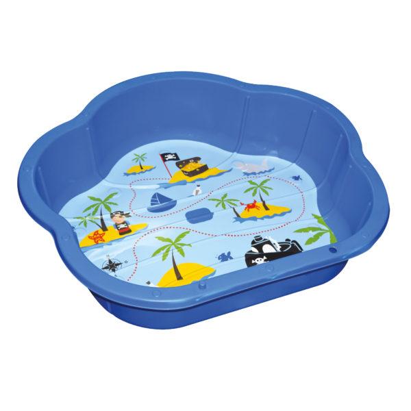 Spielmuschel für Spielen mit Wasser und Sand